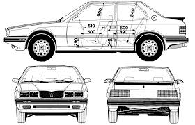 maserati karif maserati car blueprints die autozeichnungen les plans d