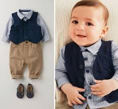 best baby boys suits european style fashion shirt vest