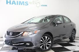 used honda civic 2013 2013 used honda civic sedan 4dr automatic ex l at haims motors