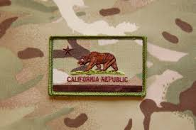 State Flag Velcro Patches California Flag Patch Tactical Outfitters