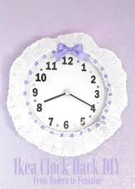 Feminine Clock - 12 best clocks images on card stock childhood