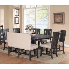 Settee At Dining Table Squeeze Your Guest With Dining Room Settee Ideas Half Circle Black