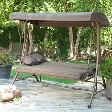 beautiful patio swing with canopy also small home decor
