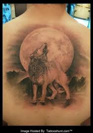 40 best back wolf tattoos images on wolf tattoos
