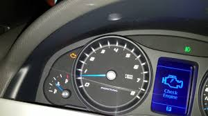 2009 g8 gt manual oil pressure readings youtube