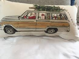 christmas car pillowcovers select from 4 u2013 french laundry home