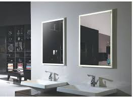 Lighted Bathroom Mirror Cabinets Led Illuminated Bathroom Mirror With Shelf Demister Shaver Sensor