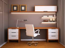 Minimalist Home Office Design Ideas For A Trendy Working Space - Home office room designs