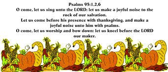 psalm thanksgiving blessings festival collections