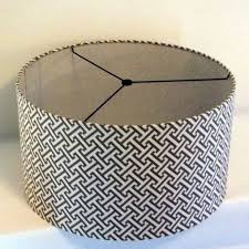 gray drum lamp shade brittany knapp