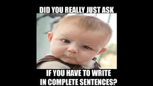 Meme Sentences - complete sentences meme by pace productions teachers pay teachers