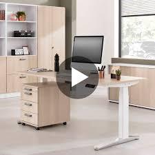Schreibtisch 130 Cm Hammerbacher Schreibtisch Elektrisch Höhenverstellbar Serie Xbhm