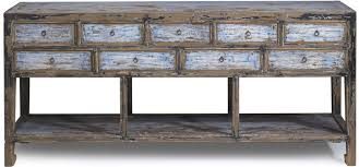 Blue Console Table Antique Blue Chinoiserie Console Table Free Shipping Today