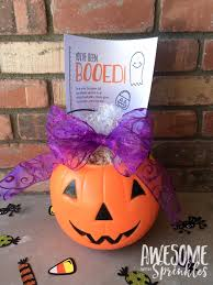 Halloween Baskets Gift Ideas Boo Basket Printable Gift Ideas Round Up Awesome With Sprinkles