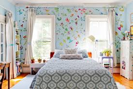 Houzz Bedrooms Traditional Hand First Person Bedroom Traditional With Blue Patterned Bedding