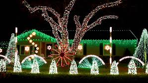 Christmas House Light Show by Gangnam Style