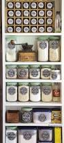 Kitchen Food Storage Ideas by Best 25 Spice Storage Ideas On Pinterest Spice Racks Kitchen