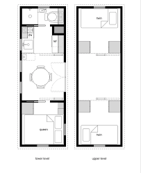 floorplans for homes tiny house floor plans with lower level beds tiny house design