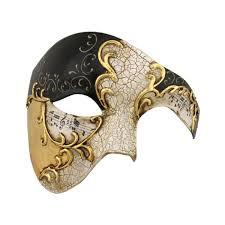 mask for masquerade gold series phantom of the opera half masquerade mask