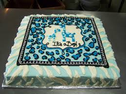 baby boy shower cake ideas 10 blue cheetah print baby shower cakes photo zebra print baby