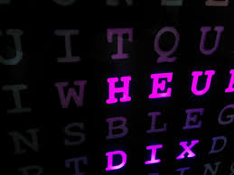 word clock horloge textuelle wifi esp8266 youtube