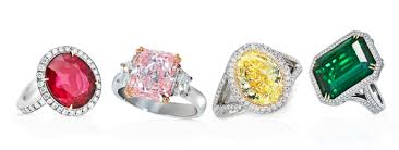color stone rings images Colored engagement ring breakdown king jewelers jpg