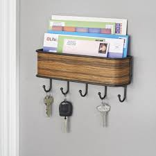 Mail And Key Holder 67 Fun Diy Wooden Key Holder For Wall Ideas You Can Do Home