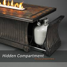 Agio Haywood by Amazon Com Agio Vienna Gas Fire Pit With Copper Reflective Fire