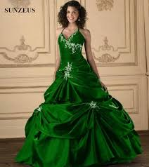 green wedding dress emerald green wedding dress