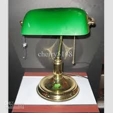 2017 green glass table lamp modern minimalist fashion classic