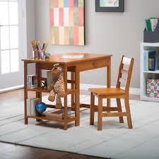 Kids Office Desk by Schoolhouse Desk And Chair Set Pecan Walmart Com
