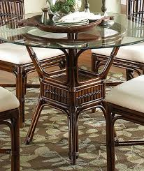 bamboo dining room table indoor rattan bamboo round dining table