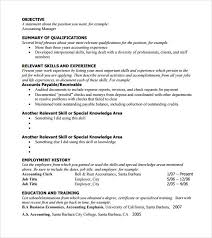 functional resume template sle functional resume 5 documents in pdf