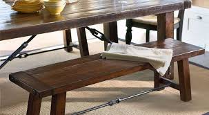bench valuable braxton rustic hardwood dining bench favorable