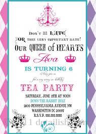 100 tea party invitation templates tea party invites