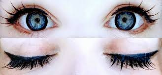 light blue cosplay contacts blue contacts for your brown eyes style wile