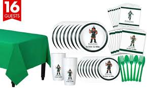 michigan state spartans party supplies party city