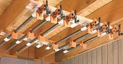 Wood Storage Rack Woodworking Plans by Workshop Clamps At Woodworkersworkshop Com