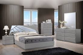 Tribeca Bedroom Furniture by Barcelona Bedroom Set In Grey By Global