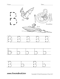 ideas of letter b worksheets for your template sample huanyii com