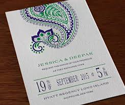 regency wedding invitations elaborate paisleys the new letterpress design regency