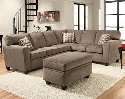 couch for living room light grey sectional sofa casual natural light clean lines and