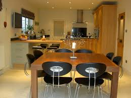 Handmade Kitchen Table by Bespoke Handmade Kitchen With Breakfast Bar And A Beautiful Stone