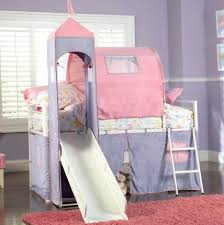 Princess Bunk Bed With Slide Bunk Castle Bunk Bed Plans Princess Carriage Bunk