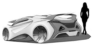 supercar drawing manta supercar concept 2012