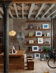 Fake Exposed Brick Wall Best 25 Interior Brick Walls Ideas On Pinterest Vaulted Ceiling