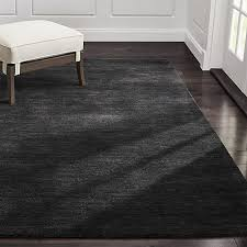 Crate And Barrel Bath Rugs Baxter Charcoal Wool Rug Crate And Barrel