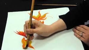 chinese brush painting basics gold fish youtube