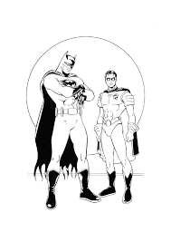 marvel coloring pages printable free marvel coloring pages batman and friends save the world