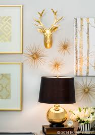 black and gold has never looked better modern glam home decor black and gold has never looked better